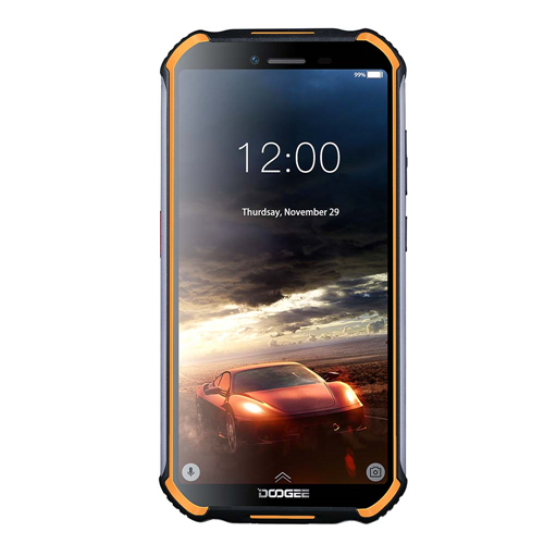 DOOGEE S40 5.5inch Display 4650mAh MT6739 Quad Core 3GB+32GB Android 9.1 8.0MP Camera Rugged Phone