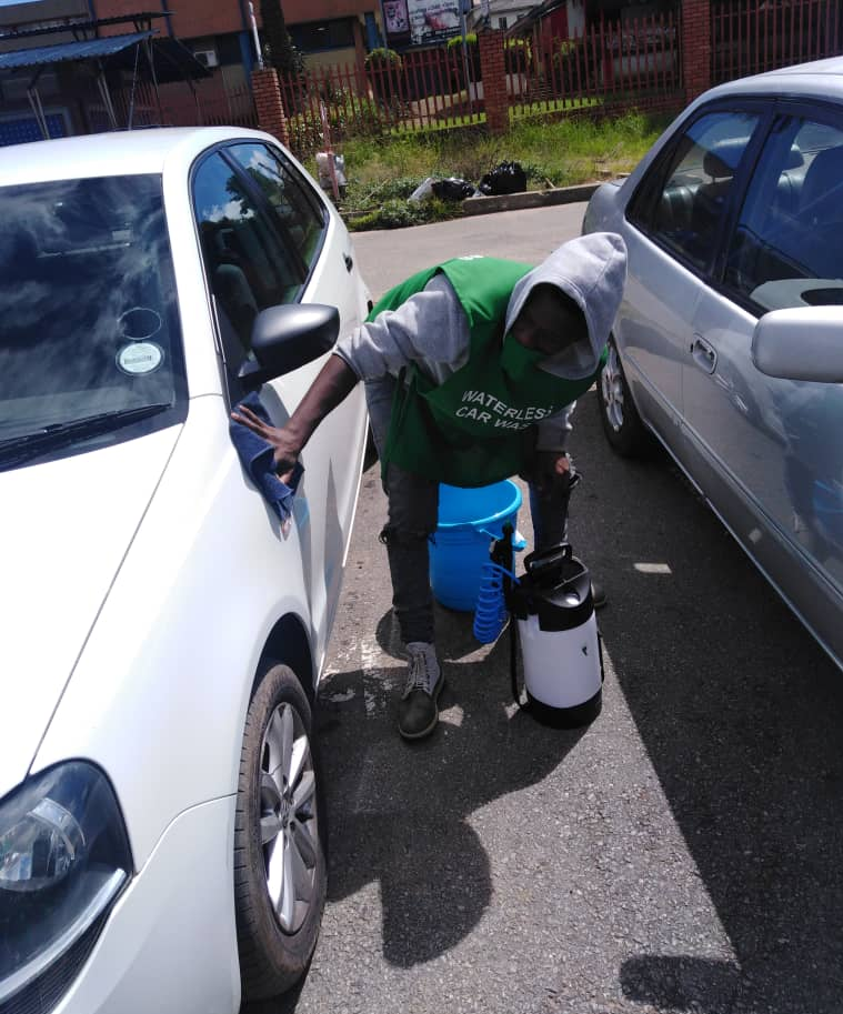 A waterless car wash is an eco-friendly and efficient car wash that uses little or no water. Sometimes it is also known as a spray on car wash or no water car wash.